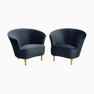 Cocktail Chairs by Ico Luisa Parisi, 1950s, Set of 2