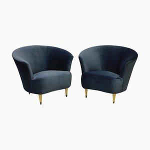 Cocktail Chairs von Ico Luisa Parisi, 1950er Jahre, 2er-Set