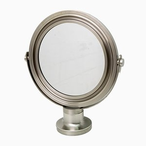 Nickel Table Mirror by Sergio Mazza for Artemide, Italy, 1970s