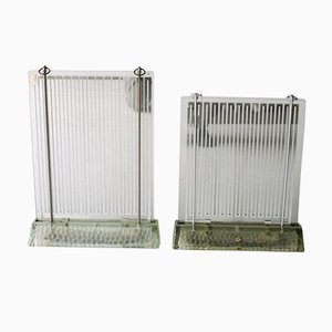 Art Deco Heaters by Rene-Andre Coulon for Saint-Gobain, 1937, Set of 2