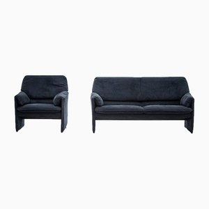 Vintage Bora Bora Couch and Armchaur from Leolux, Set of 2