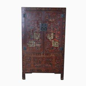 Chinesischer Dekorierter Schrank, 1920er