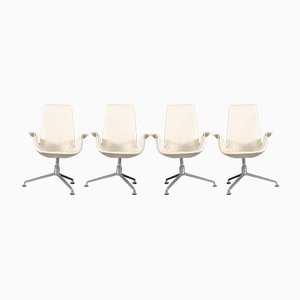 Mid-Century Tulip Chairs by Preben Fabricius & Jørgen Kastholm for Walter Knoll / Wilhelm Knoll, Set of 4