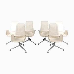 Mid-Century Tulip Chairs by Preben Fabricius & Jørgen Kastholm for Walter Knoll / Wilhelm Knoll, Set of 6