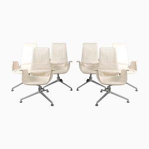Mid-Century Tulip Chairs von Preben Fabricius & Jørgen Kastholm für Walter Knoll / Wilhelm Knoll, 6er Set