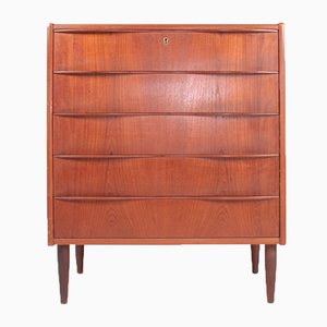 Chest of Drawers in Teak, Denmark, 1960s