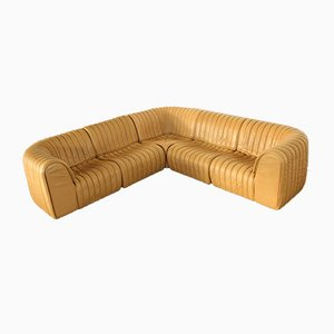 DS 22 Modular Sofa from de Sede, 1980s, Set of 5
