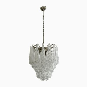 Small Drop Formed Murano Chandelier