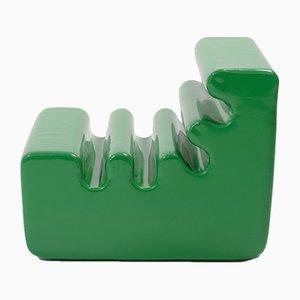 Green Karelia Lounge Chair for Zanotta