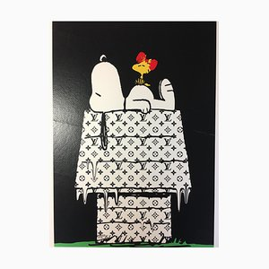 Death NYC, Snoopy Nicchia LV, 2012, Stampa serigrafica