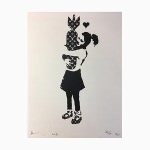 Death NYC, Bansky LV, 2018, Silkscreen Print