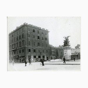 Unbekanntes, verschwundenes Rom, Palazzo Desideri, Foto, 1931