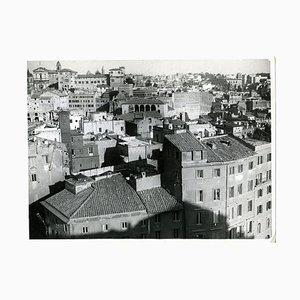 Unknown, Disappeared Rome, Foro Traiano, Photo, 1932