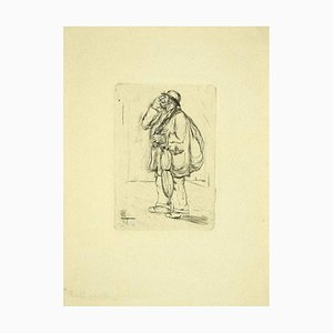 Aldo Borgonzoni, The Junk, Etching, Late 20th Century