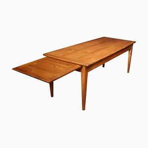 Table de ferme en bois fruitier