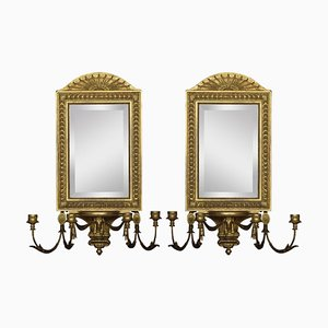 Girandole Mirrors, Set of 2
