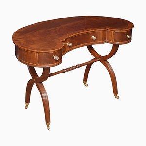 Mahogany Kidney Shaped Ladies Dressing Table