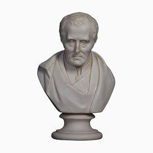 Parian Busto del Duca di Wellington
