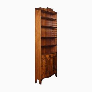 Bücherregal aus Mahagoni im Regency-Stil