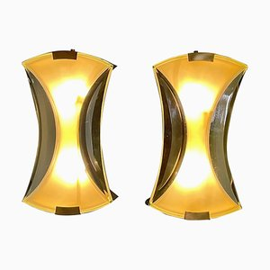 Model 2225 Sconces by Max Ingrand for Fontana Arte, Set of 2
