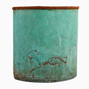 Urne en cuivre vintage