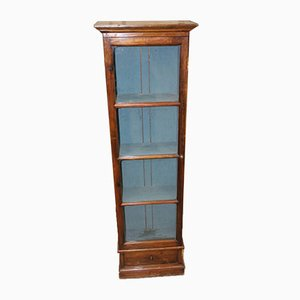 Mahogany 1-Door Cabinet, 1900s