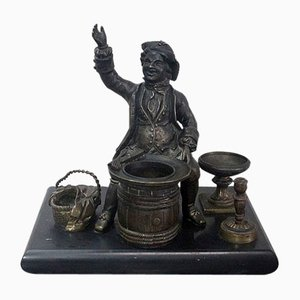 Inkwell Bronze, Late 19th Century