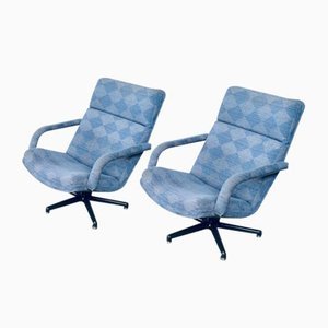 F141 Swivel Chairs by Geoffrey Harcourt for Artifort, 1970s, Set of 2
