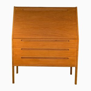 Danish Oak Secretaire by Nils Jonsson for HJN Mobler, 1960s