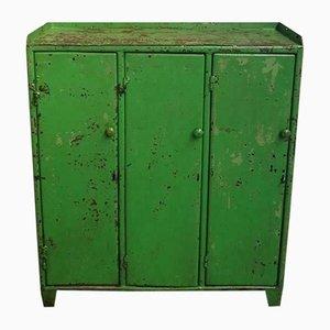 Industrial Cupboard with 3 Doors, 1960s
