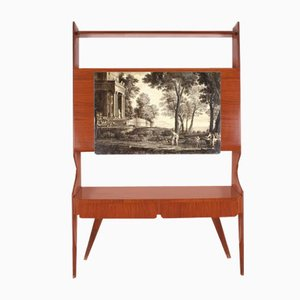 Modernistisches Geometrisches Sideboard aus Holz von Ico Luisa Parisi, 1950er