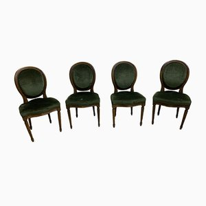 Medallion Dining Chairs, Set of 4