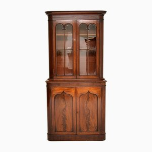 Antique William IV Mahogany Library Bookcase