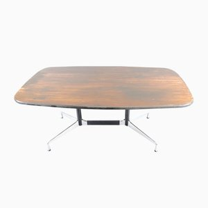 Mid-Century Conference Table With Boat Formed Shape by Charles and Ray Eames for Vitra, 1960er