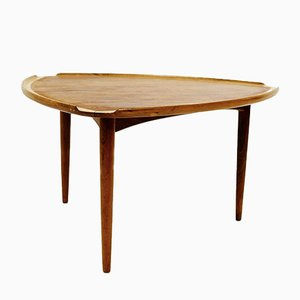 Danish Coffee Table by Johannes Andersen for CFC Silkeborg, 1960s