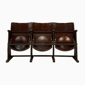 Mid-Century 3-Seater Cinema Bench from TON