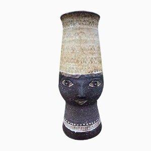 Vaso Zoomorph in ceramica di Elsi Bourelius per Jie Gantofta, Svezia, anni '60