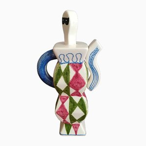 Spanish Ceramic Harlequin, 1980s