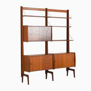 Teak Wall Unit by Torbjørn Afdal, Norway, 1960s