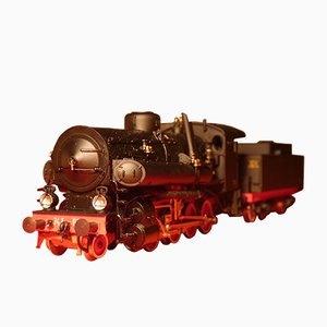 Version 001 Train Locomotive Class GR 743 FS from Rivarossi, 1980s