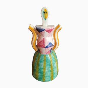 Spanische Keramik Frau, 1980er