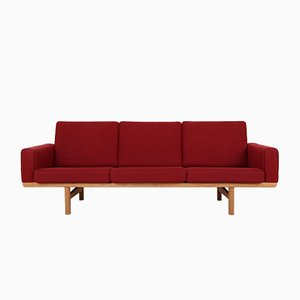 3-Seater Model GE236 Sofa by Hans J. Wegner for Getama, 1960s