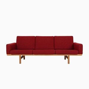 Sofá de tres plazas modelo GE236 de Hans J. Wegner para Getama, años 60
