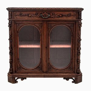Antique Display Cupboard, 1880s