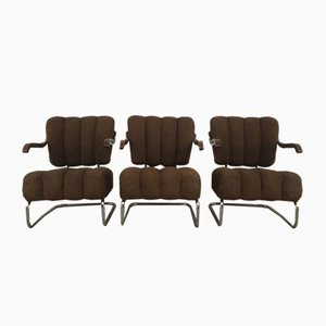 Functionalist Armchairs by Mucke Melder, 1930s, Set of 3