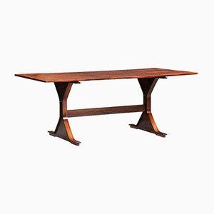 Table de Salle à Manger Modèle 522 Mid-Century en Palissandre par Gianfranco Frattini pour Bernini