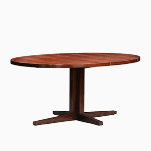 Mid-Century Model HM55 Rosewood Dining Table by John Mortensen for Heltborg Møbler