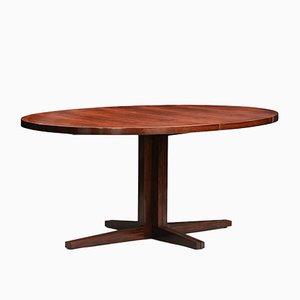 Mid-Century Model HM55 Rosewood Dining Table by John Mortensen for Heltborg Møbler