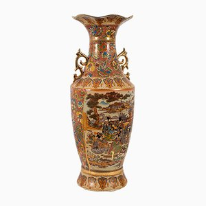 Art Deco Baluster Vase, 1940s