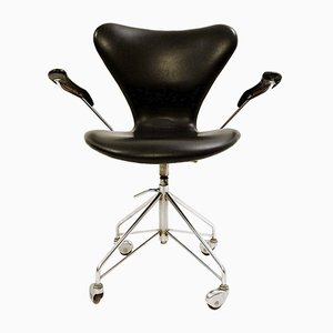 Model 3217 Office Chair by Arne Jacobsen for Fritz Hansen, 1950s